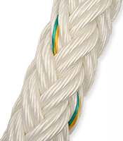 12-24 Strand Ultra Mixed Nikasteel Mooring Rope
